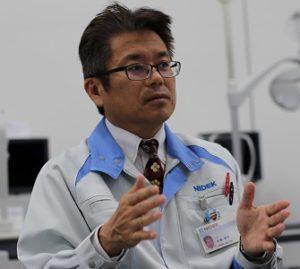 株式会社ニデック 企画部 部長 岩瀬 清忠様